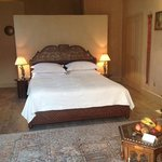 Beautifully appointed bedroom at Maison Ottomane