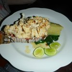 Garlic and Lime Lobster
