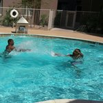 Family time, Homewood suites Phoenix Arizona.