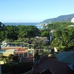 view of Cairns Harbour from our apartment