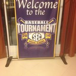 The Holiday Inn welcomed SEC baseball fans nicely!