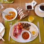 Full English Breakfast at Overdale Guest House