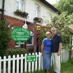 Wendy and Stefan welcome you to Little Hayes Guest House
