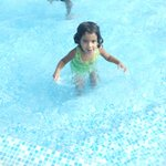 seprate childrens pool