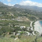 View of a lovely beach near Plakias