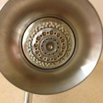 Shower head corroded/dirty