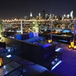 Z Rooftop At Night