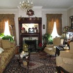 The beautiful living room/parlor