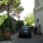 Villa,Garden & the parking space