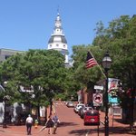 Downtown historic Annapolis