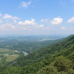 View looking back towards Kingsport from the Fire Tower