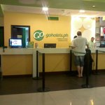 GOHotels Cybergate Plaza - Reception Area