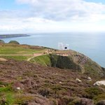 The nearby South Stack