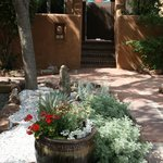 Entrance to Private Patio