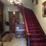 Staircase when you enter the mansion, beautiful