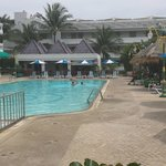View of Andaman Beach Suites Hotel swimming pool