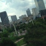 View of Centennial Olympic Park