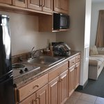 Kitchenette in long stay room