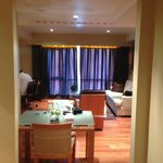 Living room looking from front door