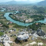 Kaunos Hill - View to Dalyan Town