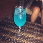 blue lagoon cocktails at Linekers (my fav bar- check out flairs too but it gets BUSY)