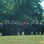 Civil War reenactors at Ft. Davidson