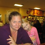 My daughter, Pam, and granddaughter, Laney