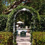 Lush, Private Arbor entrance to the Pool.
