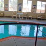 ...indoor pool room