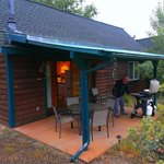Sage Cabin patio