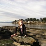 Granddaughter loved playing on the rocks