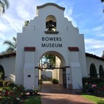 Entrance to the Bowers Museum.