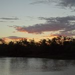 Sunset over the Thomson River