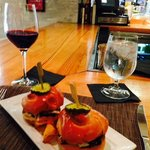 Pork Belly Sliders at One Flew South