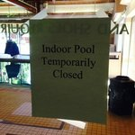 """Sorry, tough luck..."" the pool is not a ""guaranteed"" amenity"