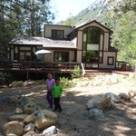 Kids in the Backyard - Check out the view of Tahquitz Rock