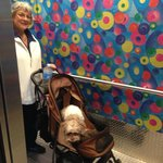 Elevator - accommodated our Service Dog!