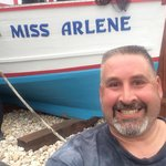 The miss Arlene is the new boat done into a great dinning room !! Absolute gorgeous inside !! Do
