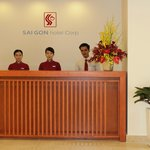 SAIGON hotel- Reception Desk