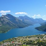 View from Bears Hump in Waterton