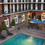French Quarter Courtyard and Pool