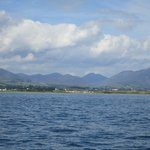 the Mourne Mountains from Carlingford Lough