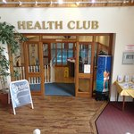 Health Club entrance