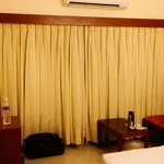 Compact room, cover up curtain
