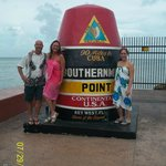 Southern most part of the U.S.A.