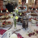Afternoon tea for friends 40th