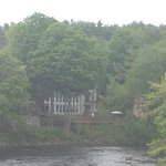 Back of Henniker House - river view from distance