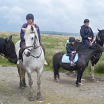 pony trekking, May 2014
