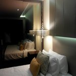 nicely lit rooms