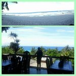 view of Bohol Sea from dining area